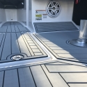 Custom Hydrodeck Luxury Marine Flooring - Lake Lanier, Ga