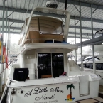 Custom Canvas Enclosure for 42' Carver - Lake Allatoona