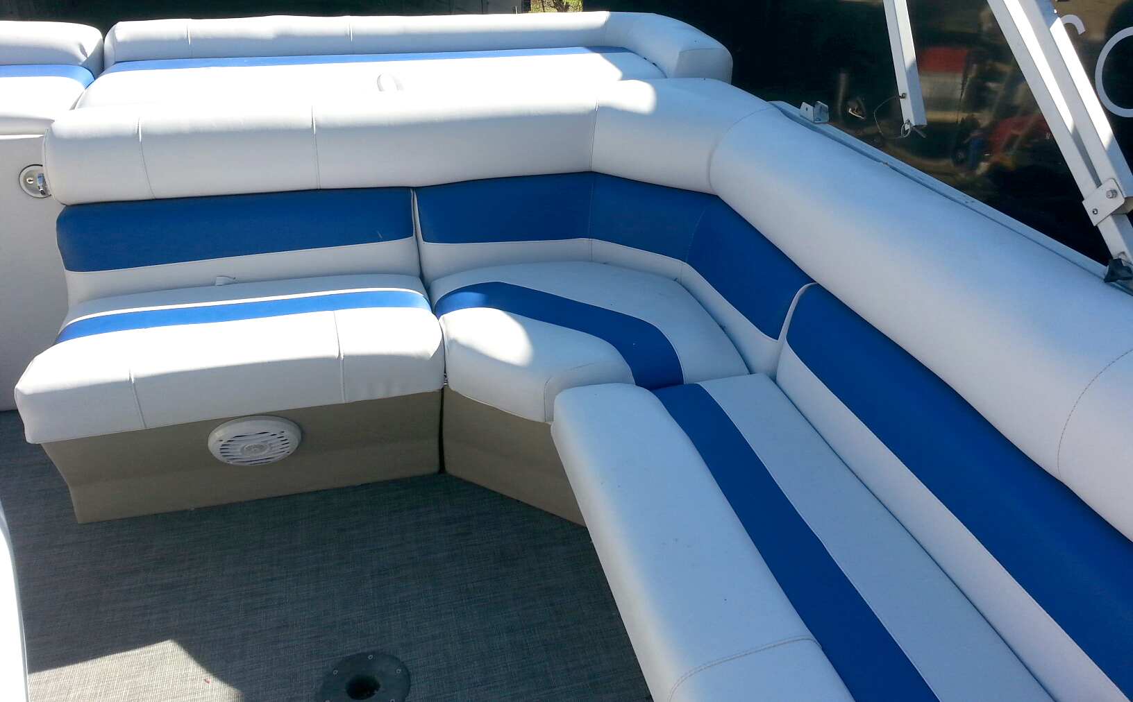 On The Water Solutions Marine Canvas Upholstery And